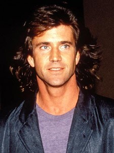 Mel Gibson's Early Long Hair