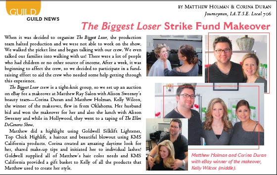 Matthew Ray Salon Celebrity News